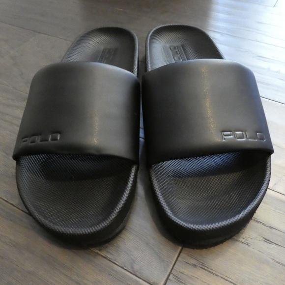 41e561696a21 New Men s Cayson Black Slide Sandal Foam Flip Flop